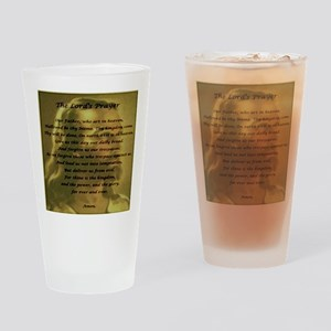 The Lord's Prayer Drinking Glass