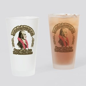 Burr-lesque Drinking Glass