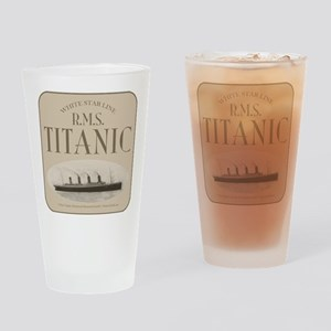 RMS TItanic Drinking Glass