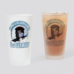 Navy Submariner SSN-21 Drinking Glass