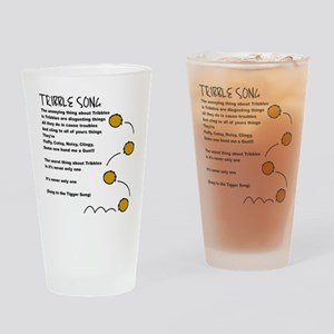 Tribble Song Drinking Glass