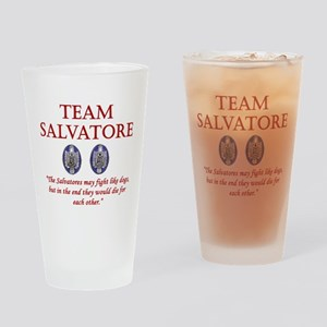 Team Salvatore Drinking Glass