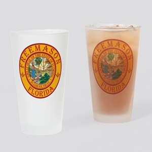 Florida Freemasons Drinking Glass