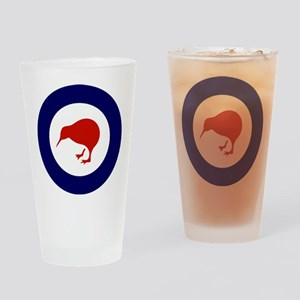 New Zealand Roundel Drinking Glass
