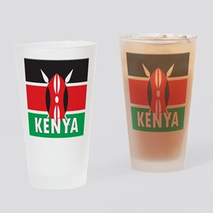 Kenya Drinking Glass