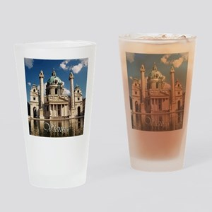 Vienna St Charles Church Drinking Glass