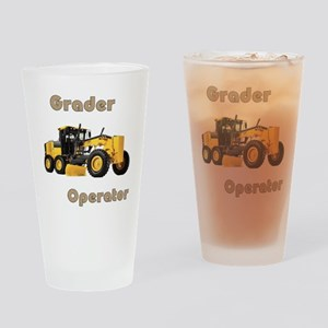The Grader Drinking Glass