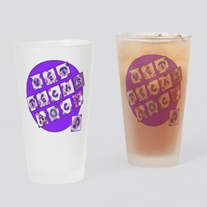 Vet Techs Rock Drinking Glass