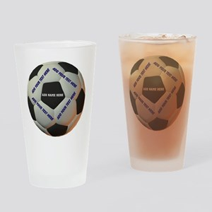 Soccerball Drinking Glass