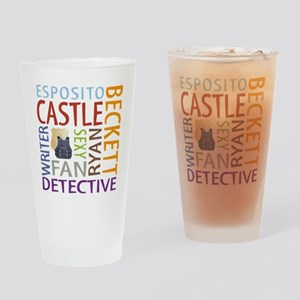 Castle Fan Drinking Glass