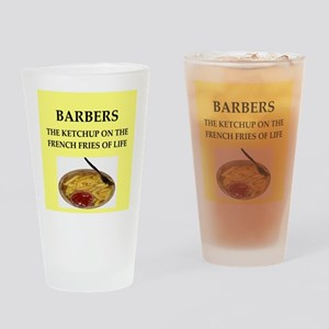 barber Drinking Glass
