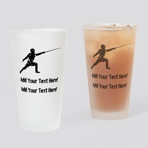 Personalize It, Fencing Drinking Glass