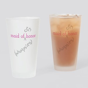 Maid of (Dis)honor Whoopsies Drinking Glass