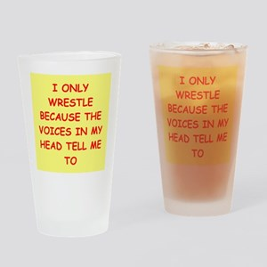 WRESTLE Drinking Glass