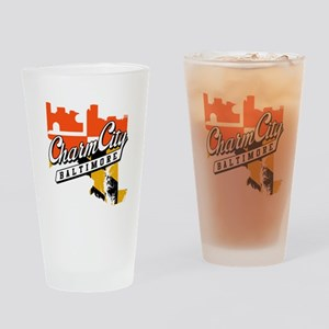 Charm City Drinking Glass