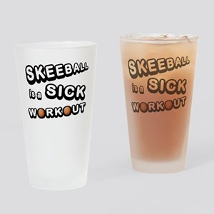 Skeeball is a Sick Workout Drinking Glass