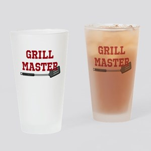 Grill Master Spatula in Red Drinking Glass