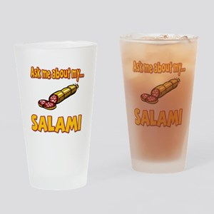 Funny Ask Me About My Salami Innuendo Humor Drinki