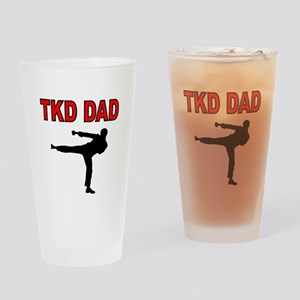 TKD DAD Drinking Glass