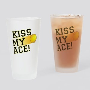 KissMyAce(tennis) copy Drinking Glass