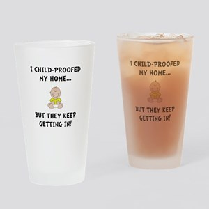Child Proofed Drinking Glass
