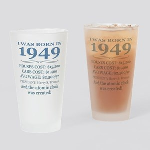 Birthday Facts-1949 Drinking Glass