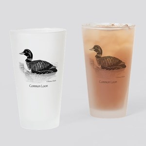 Common Loon Drinking Glass