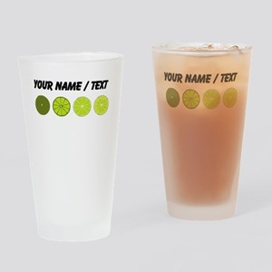 Custom Limes Drinking Glass
