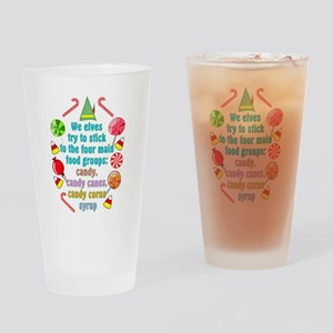 Elf Candy Drinking Glass