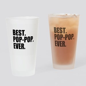 Best Pop-Pop Ever Drinking Glass