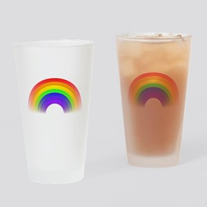 Rainbow Drinking Glass