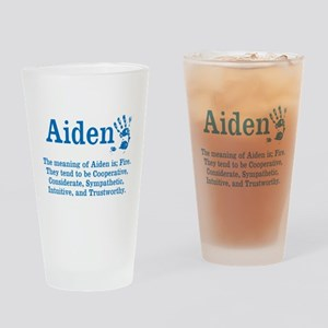 The Meaning of Aiden Drinking Glass