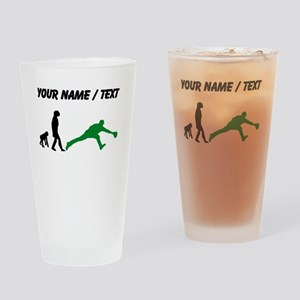 Custom Baseball Fielder Evolution (Green) Drinking