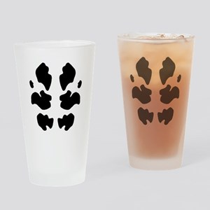 Watchmen Rorschach Drinking Glass