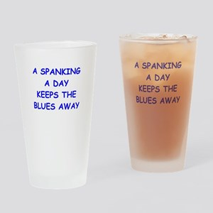 SPANKING Drinking Glass