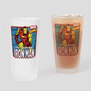 The Invincible Iron Man Drinking Glass