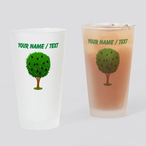 Custom Mulberry Bush Drinking Glass