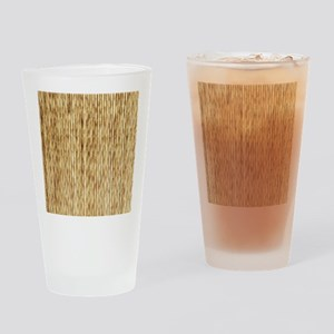 LIGHT BEIGE BAMBOO Drinking Glass