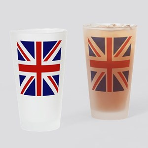 British Flag Drinking Glass