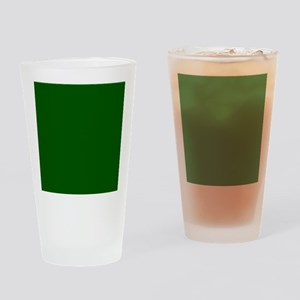 Dark green solid color Drinking Glass