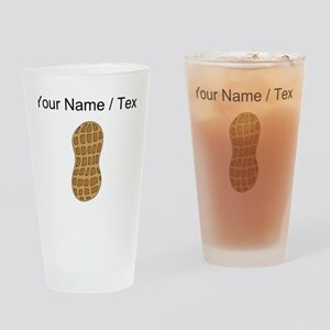 Custom Peanut Drinking Glass