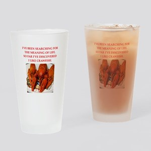 crawfish Drinking Glass