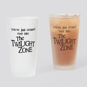 Into The Twilight Zone Drinking Glass