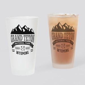 Grand Teton Vintage Drinking Glass