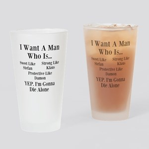 Vampire Diaries Drinking Glass