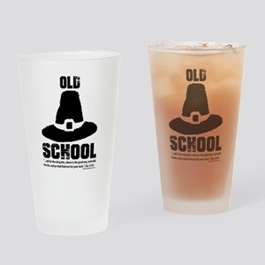 Old School Reformed Puritan Drinking Glass