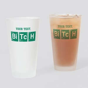 Custom Text Jesse Pinkman Drinking Glass