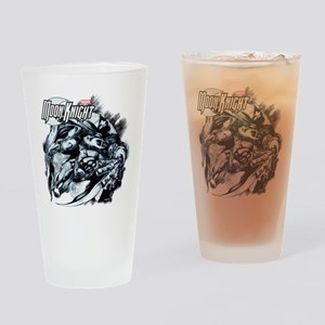 Moon Knight Blue Drinking Glass