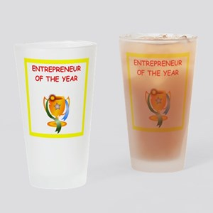 entrepreneur Drinking Glass
