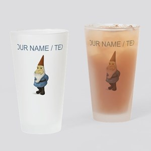 Custom Garden Gnome Drinking Glass